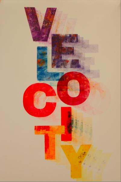 Alan Kitching print for Velocity